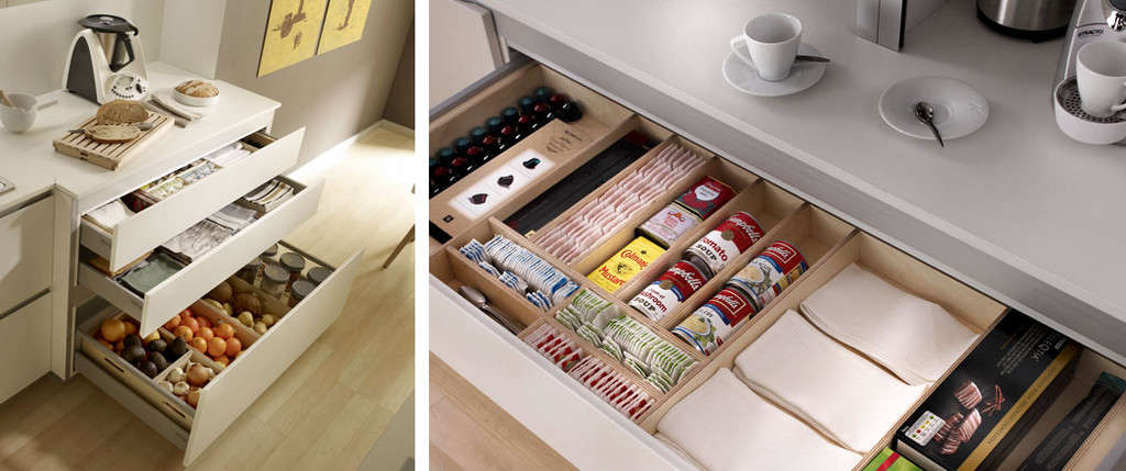 Mercasur estepona almacenaje en la cocina mercasur - Aprovechar espacio cocina ...