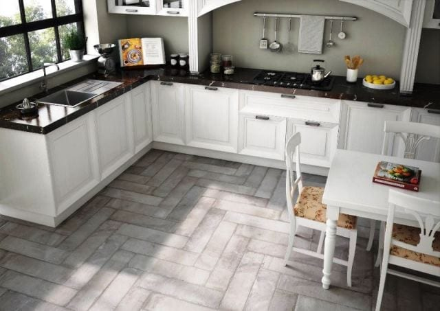 Suelos de linoleo para cocina simple excellent piso - Suelos porcelanicos para cocinas ...